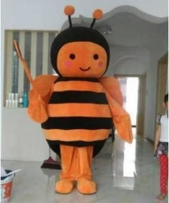 Orange Black Bee Christmas Halloween