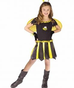 Girls - Sweetheart Bee Child 4-6 Halloween Costume - Child 4-6