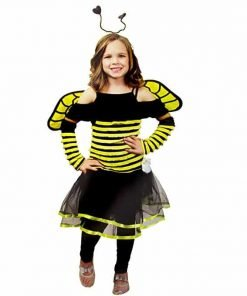 Busy Bee Kids Costume One Size Fits Most 8-10 Years Old
