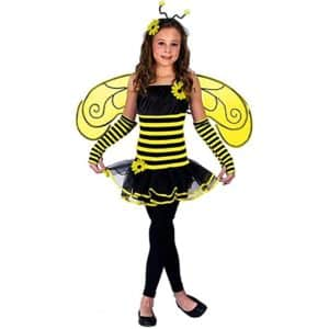Girl's Honey Bee Costume - Medium