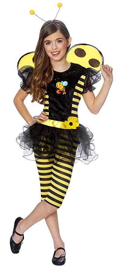 Girls Costume - Busy Bumble Bee Girls Costume - Child Small