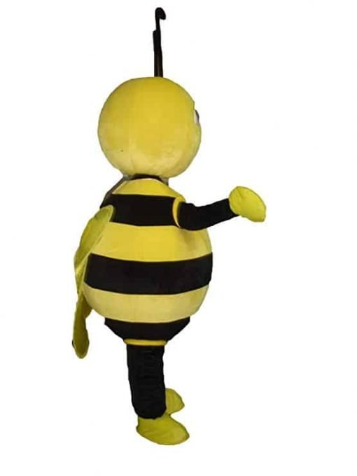 Sinoocean Bee honeybee Adult Mascot Costume Fancy Dress Cosplay Outfit