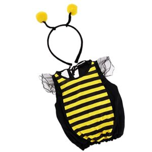 Dovewill Childs Girls Bumblebee Honey Bee Skirt Fairy Fancy Dress Halloween Party Costume