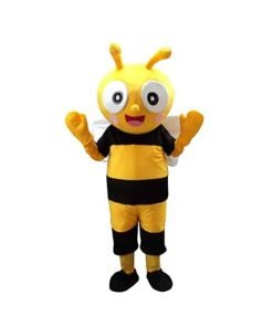 Sinoocean Bee honeybee Halloween Easter Mascot Costume Fancy Dress Suit Outfit