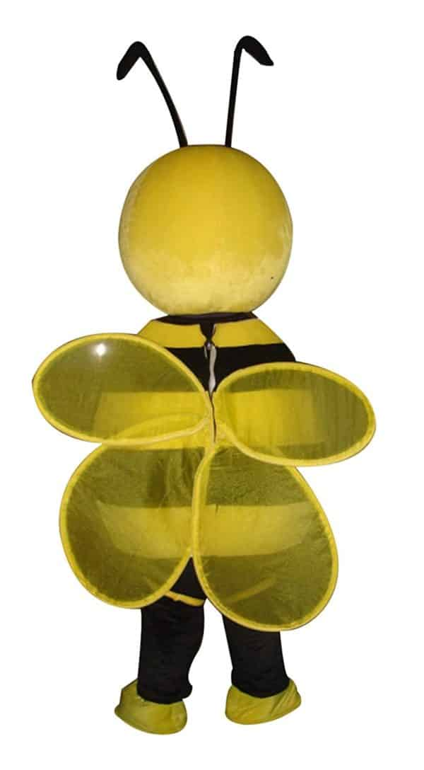 Lovely Yellow Bee Mascot Costume Cartoon Character Adult Sz Langteng (TM)Cartoon