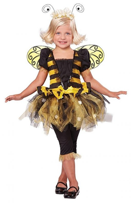 California Costumes Sunny Honey Bee Costume, One Color, 3-4