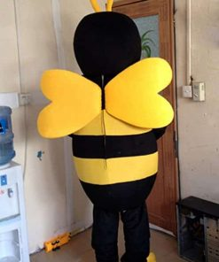 Bee Mascot Costume Bee Costume Adult Halloween Fancy Dress