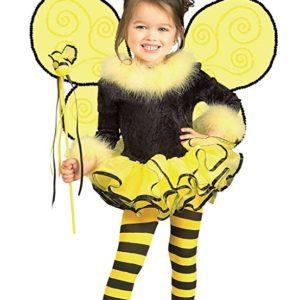 Girls Bumblebee Kids Child Fancy Dress Party Halloween Costume