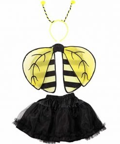 Girls Kids Ladybug Ladybird Bumble Bee Insect Bug Fancy Dress Costume Wings