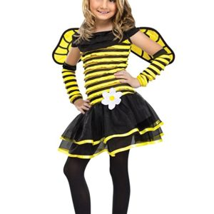 Big Girls' Busy Bee Costume Small (4-6) by Fun World