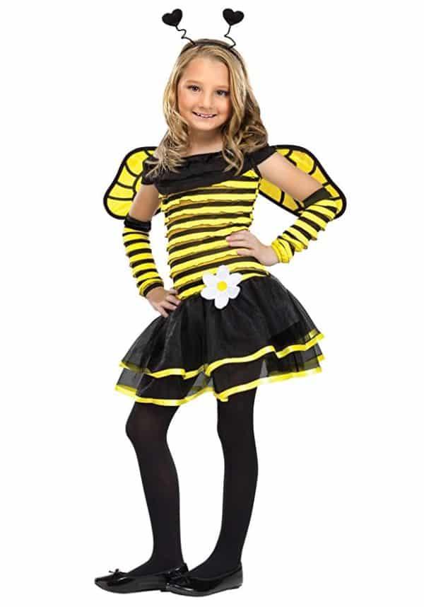 Big Girls' Busy Bee Costume Small (4-6) by Fun World