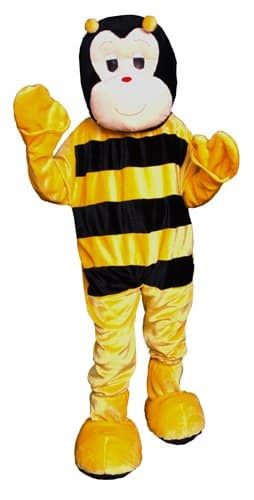 Bumble Bee Economy Mascot Adult Costume (One-Size)