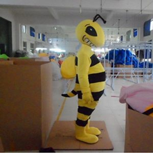 Free Shipping Bee Cartoon Character Costume Mascot Cosplay Custom Products Customized