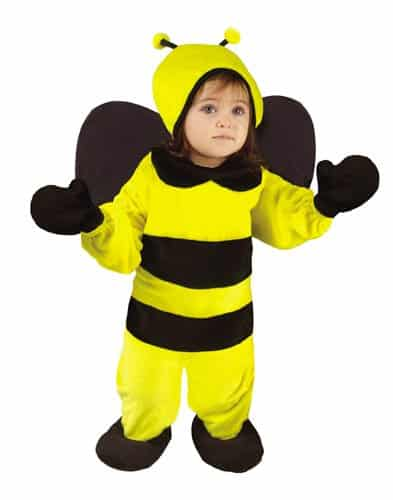 Baby Bumble Bee Jumpsuit Costume 6-12 Months