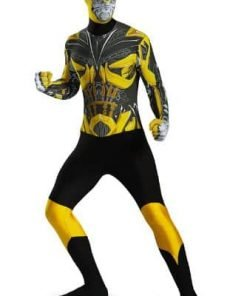 Disguise Men's Hasbro Transformers Age Of Extinction Bumblebee Bodysuit Costume
