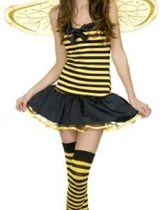 Girl's Honey Bee Costume - LARGE