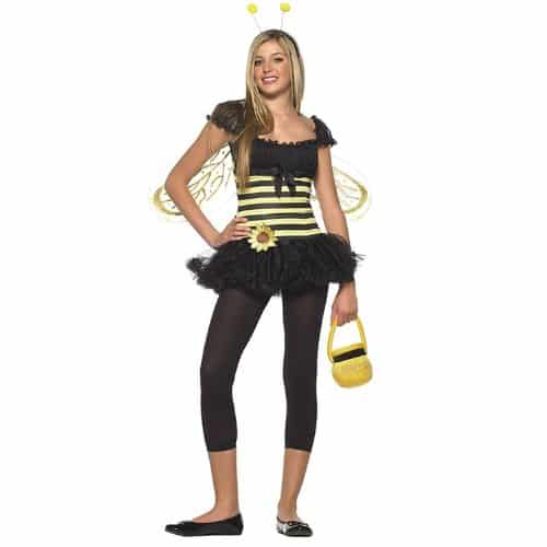 Leg Avenue Women's 3 Piece Sunflower Bee Dress