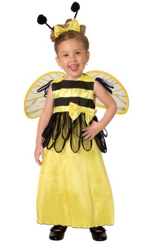 Girls Honey Bee Kids Child Fancy Dress Party Halloween Costume