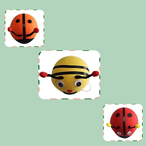 DREAMOWL Kids 70cm Ladybug Animal Bee Hat Cape Set, Halloween Costume For Child