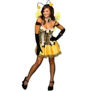 Secret Wishes Women's Adult Sassy Honey Bee Costume