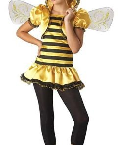 Girls - Honey Bee Child 10-12 Halloween Costume - Child 10-12
