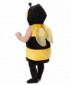 Dress Up America Kids Little Bee Outfit Fuzzy Bee Costume