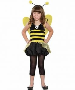 Child's Queen Honey Bee Halloween Costume (MD)