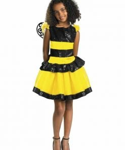 Disguise Razzle Dazzle Bee Girls Costume, 10-12