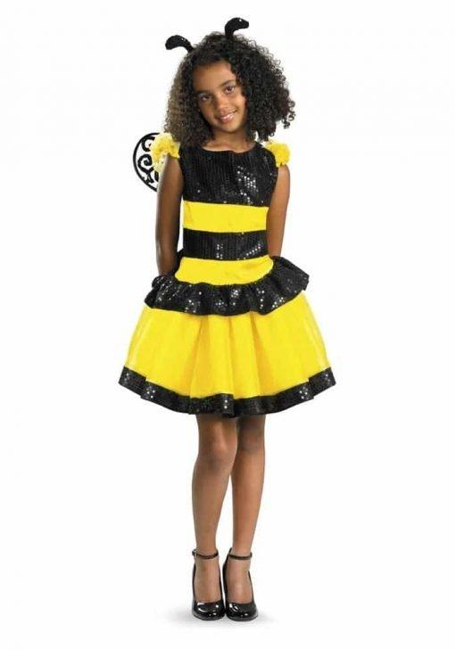 Disguise Razzle Dazzle Bee Girls Costume, 10-12