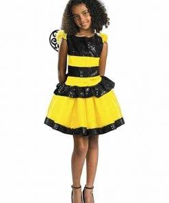 Razzle Dazzle Bee Child Costume Size 4-6X