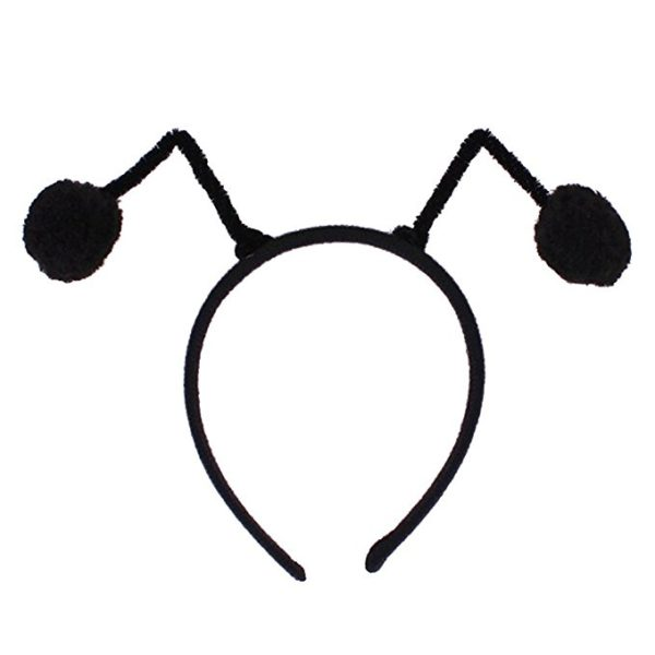 Auranso Elf Cosplay Costume Antenna Headwear Ball Anime Ladybug Fly Bee Ant Headband For Women Girls