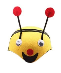 bbhoney Farm Animal Cartoon Kids Mask Hat For Cosplay Halloween Birthdays Theme Party Costume