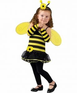 Fun World Toddler Girls' Honey Bee Costume, Multi, Small