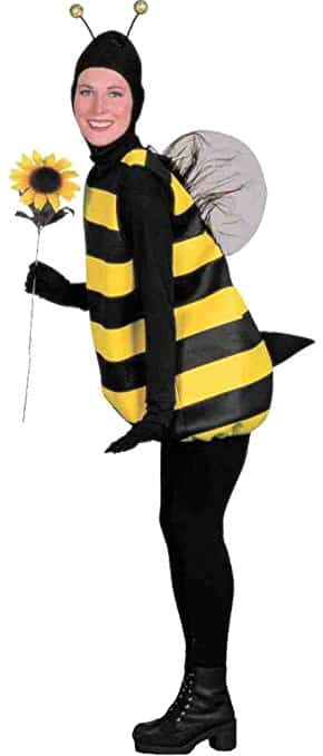 Womens Halloween Costume- Bumble Bee Adult Costume