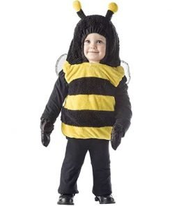 Bumble Bee Jumper Child Costume Size 4-6 X-Large