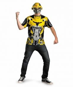 Transformers 3 Dark Of The Moon Movie - Bumblebee Adult Plus Costume Kit