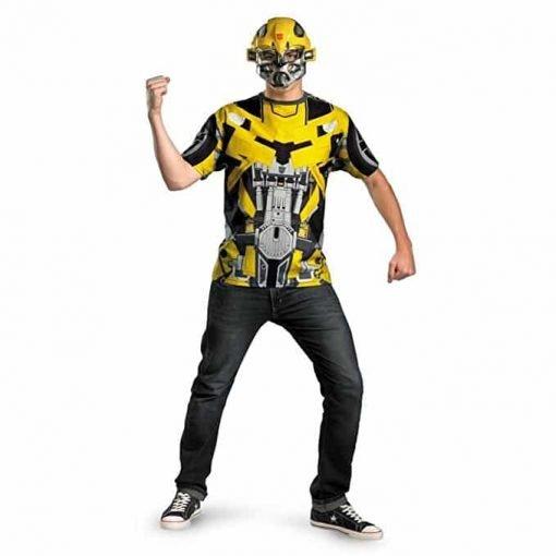 Transformers 3 Dark Of The Moon Movie - Bumblebee Adult Plus Costume Kit