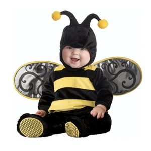 XXOO Toddler Baby Animal Bee With Wing Outfit Christmas Costume