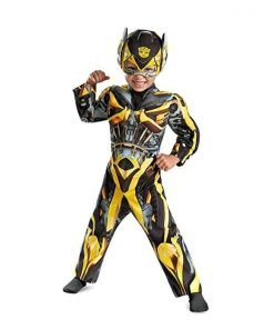 Bumblebee Muscle Costume - Toddler Medium