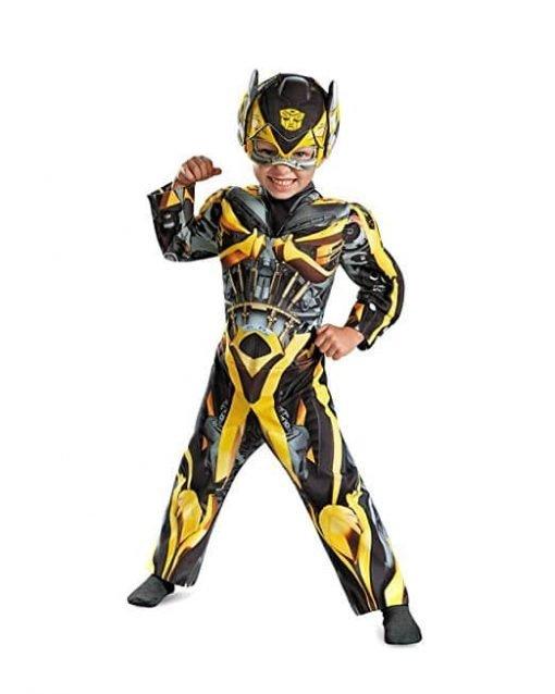 Bumblebee Muscle Costume - Toddler Medium