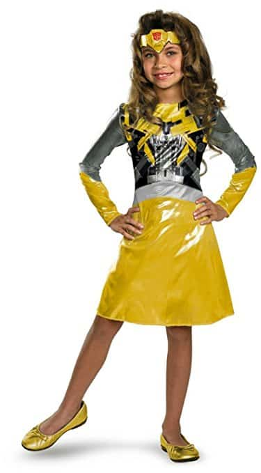 Transformers Bumblebee Girl Costume
