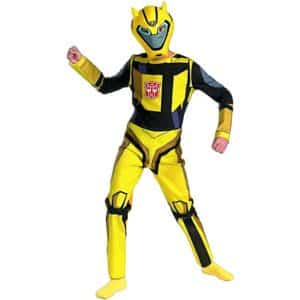Bumblebee Cartoon Classic Child Costume - Medium