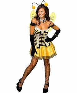 Secret Wishes Women's Adult Sassy Honey Bee Costume
