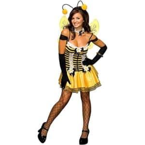 secret wishes womens adult sassy honey bee costume
