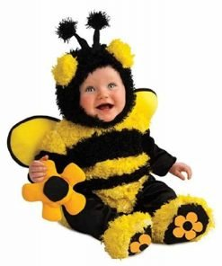 Infant Bubble Buzzy Bee Costume: Unisex Baby Halloween Costume With Bracelet for Mom