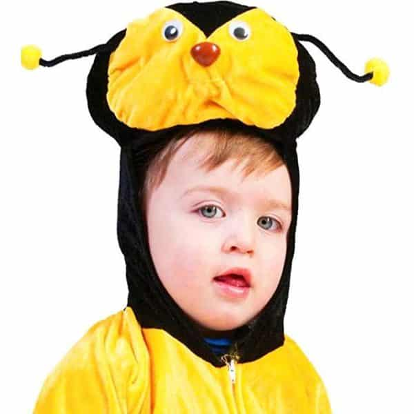 Bumble Bee Jumpsuit Toddler Costume