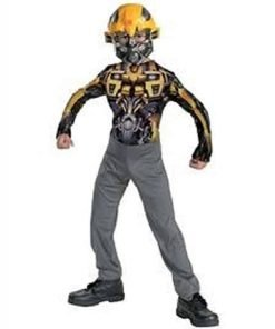 Transformers Bumblebee Kids Costume - 4-6x