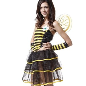 Spooktacular Women's Sweet Green Fairy Costume with Dress & Accessories