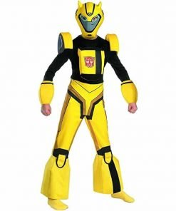 Bumblebee Cartoon Deluxe Child Costume - Small