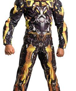 Boys - Bumblebee Classic Muscle Child Costume 10-12 Halloween Costume